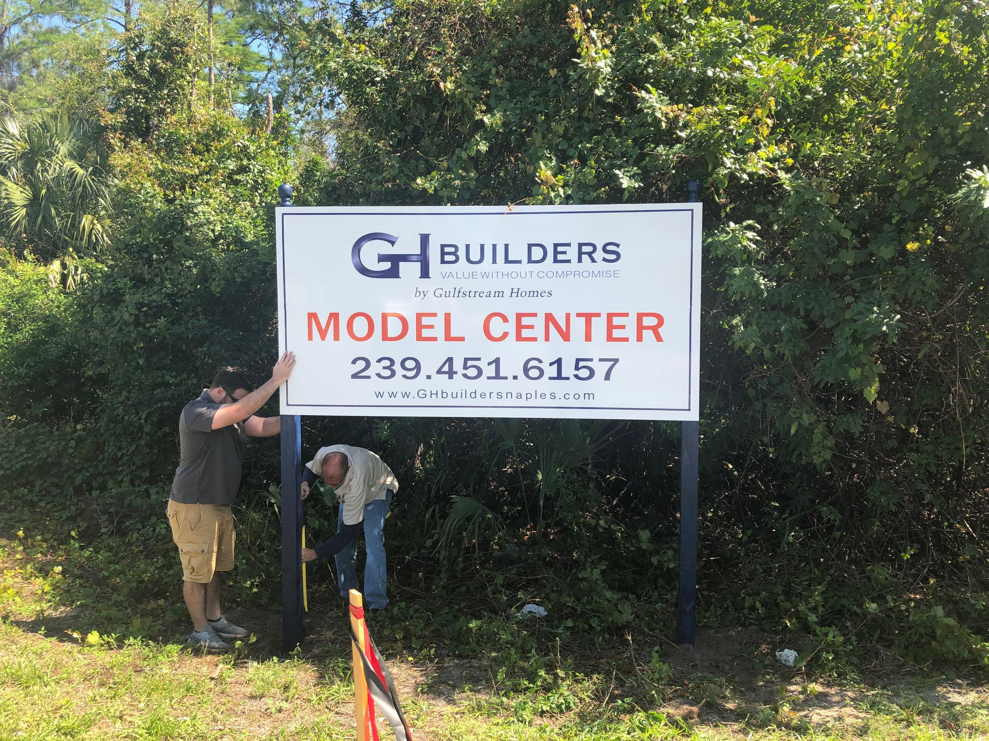 GH Builders Nearing Construction on Four New Homes in Golden Gate Estates