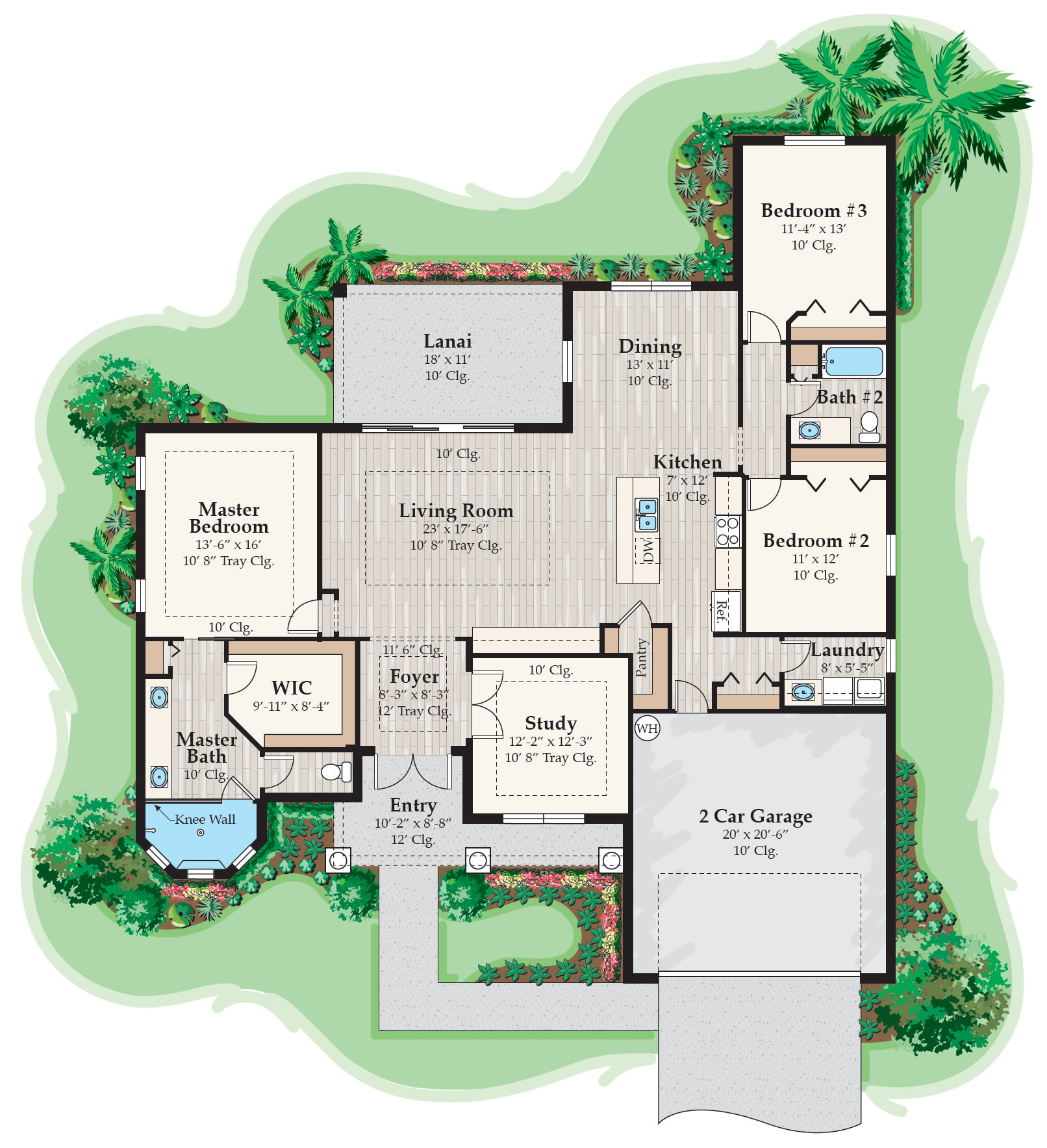 Your Guide to the 5 Home Floorplans Available From GH Builders